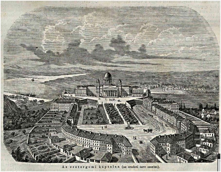 Az esztergomi káptalan (az eredeti terv szerint). 1862. 10. 66381c4657